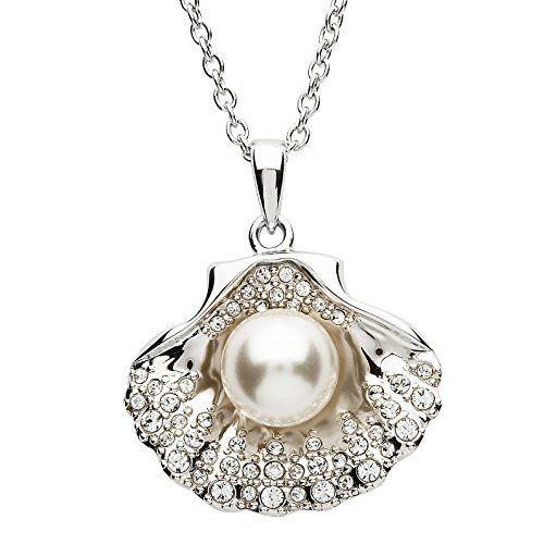 Silver Pearl Sea Shell Pendant Embellished With White Swa... https://www.amazon.co.uk/dp/B076F7TTPB/ref=cm_sw_r_pi_dp_x_FuibAb23A1FTH