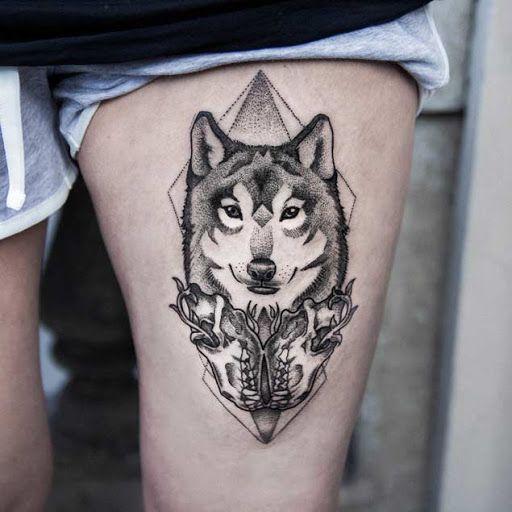 Este lindo pedaço de coxa #tatuagens #tatuagem