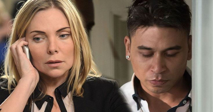 Has Fatboy comeback from beyond the grave to mess with Ronnie Mitchell?