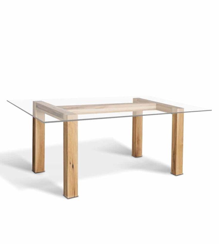 25+ Parasta Ideaa: Massivholz Tischplatte Pinterestissä ... Moderne Holzmobel Ambiente Wohnlich