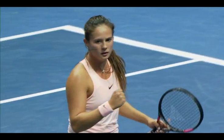 Dasha & Vera advance...Via Jake Davies: Daria Kasatkina wins from a set down to beat Viktoria Kuzmova 1-6 6-4 6-1. She listened to her coach, waited for Kuzmova to start missing and believed she'd get her opportunity. Her lobs and court craft in the third set was amazing. #wta