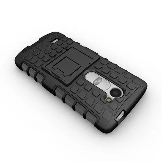 Case For LG Leon H324 H340 C40 450 Heavy Duty Armor Shockproof Hybrid Hard Silicone Rubber Phone Case Cover For LG Leon (<