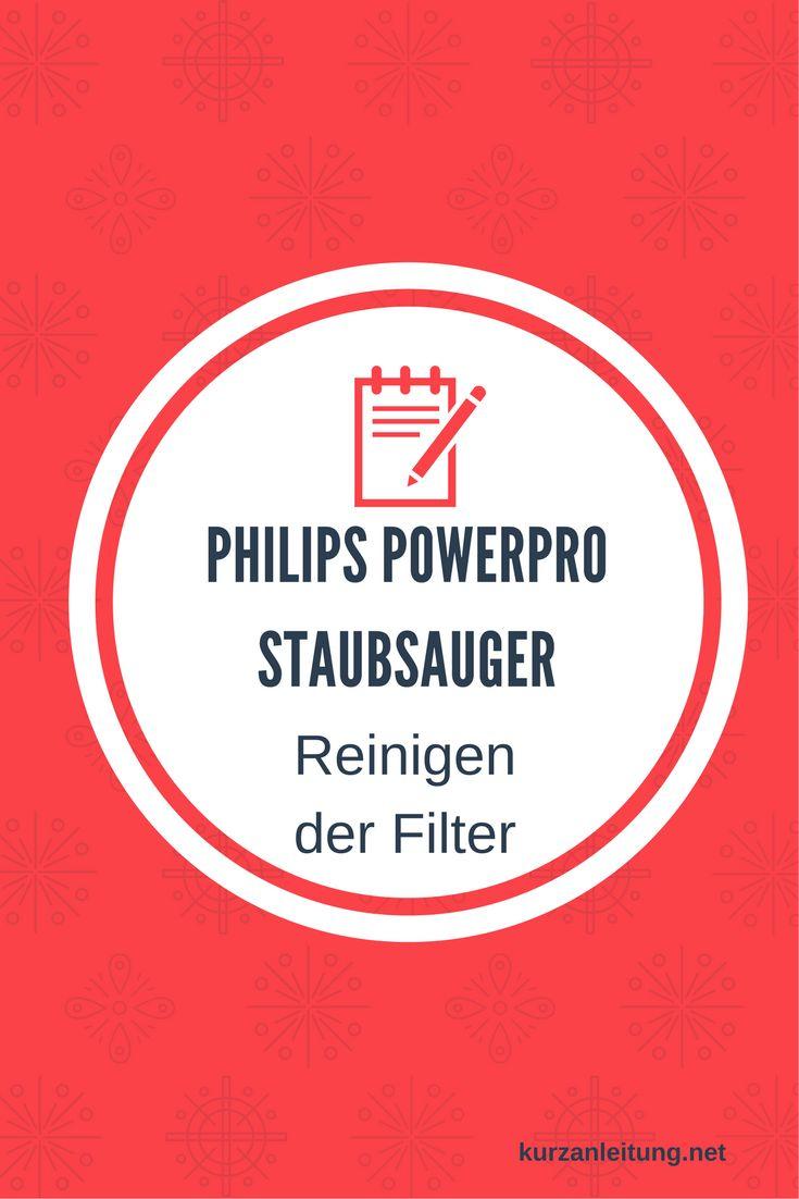 Wie wird der Philips PowerPro Staubsauger bzwder (HEPA) Filter gereinigt?  Marke: Philips Modell: PowerPro Compact, FC8477/91, Staubsauger ohne Beutel Hilfsmittel: feuchtes Staubtuch  #Filter #Philips #Reinigung #Staubsauger
