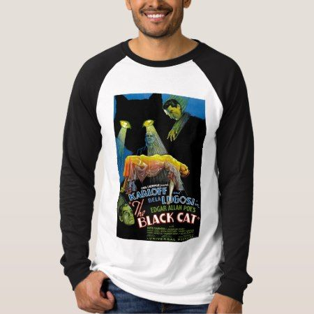 The Black Cat Movie Poster T-Shirt - tap to personalize and get yours