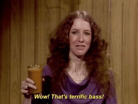 New party member! Tags: snl saturday night live 1970s Laraine Newman bassomatic wow thats terrific bass