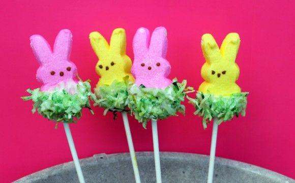 Tutorial: Easter Grass Peeps Pops