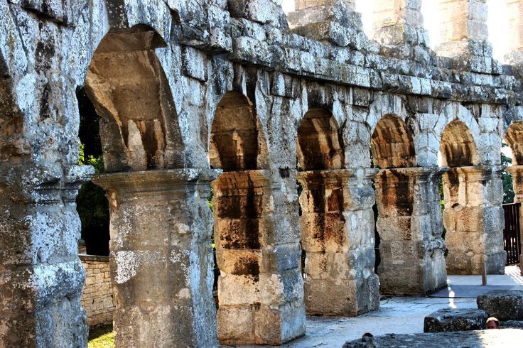 The ancient architecture of the Romans are so solid and fascinating - wandering through Pula Colosseum was one of the highlights of our trip. No crouds, no entry fee, just a step back into the Gladiator circle.