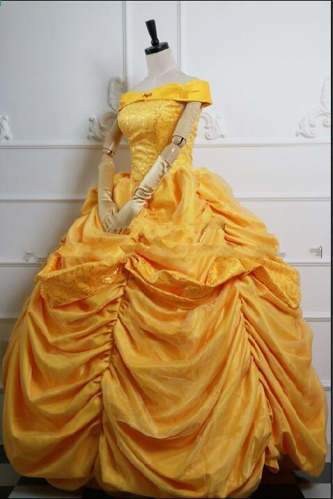 Kostume Dyr Skønhed Og Fragt Voksen Prinsesse Gratis Belle wZxRqzUC