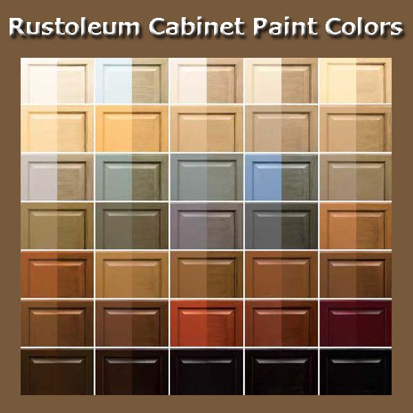 Black Kitchen Cabinets Paint Color: Cabinet Paint Colors, Rustoleum Cabinet Transformation And