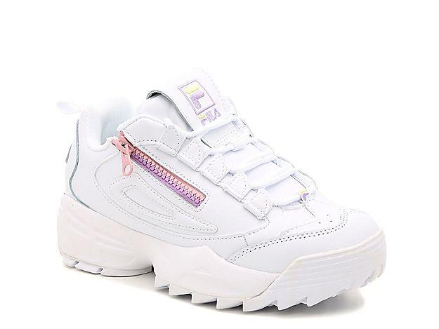 FILA Disruptor 3 Zip Pink Trainers | Chaussure sneakers