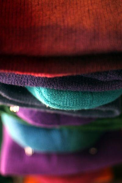 tie dye wool cap.