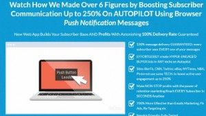 PushLeads Push Notifications App