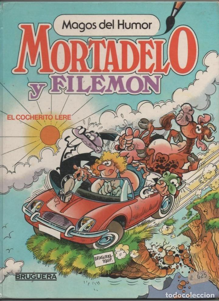 MAGOS DEL HUMOR 11 MORTADELO Y FILEMON EL COCHERITO LERE, COMIC, TEBEO