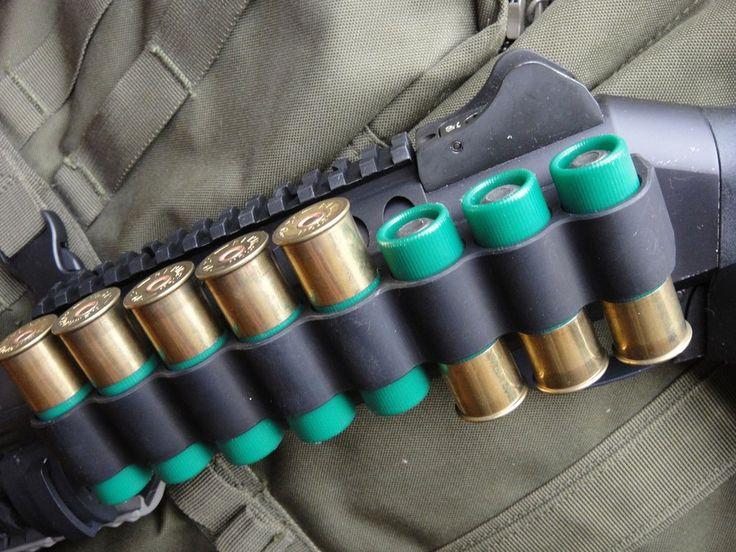 Mesa Tactical Aluminum Side Saddle 8-Round Benelli M4 Shotgun - 90890