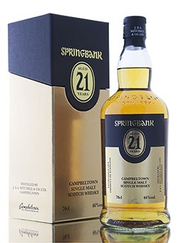 The return of the much anticipated Springbank 21 Year Old, complete with gold attire. Matured in both sherry and bourbon casks, the 2015 release looks like it's going to be another stunning dram, showing off the great complexity that you get from a Springbank whisky developed with age.