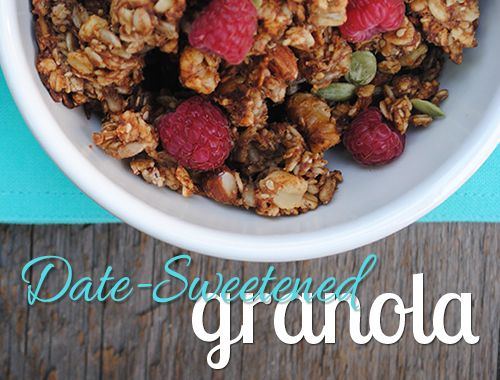 Date-Sweetened Granola