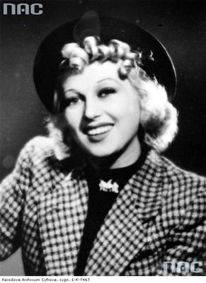 IDA BENITA (1912-1944) was a popular Jewish-Polish actress of the interwar period.
