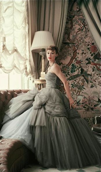 Behind the scenes at Christian Dior in the 1950s                                                                                                                                                                                 More