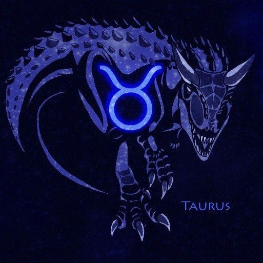 Телец и дракон картинка