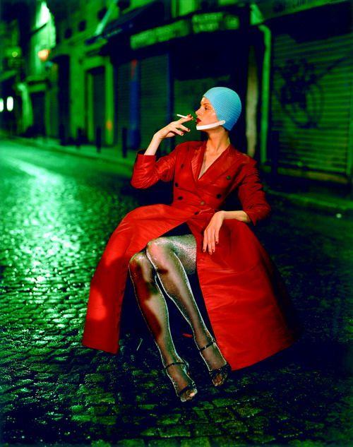 Top model Kristen, Paris, 1994 by Paolo Roversi