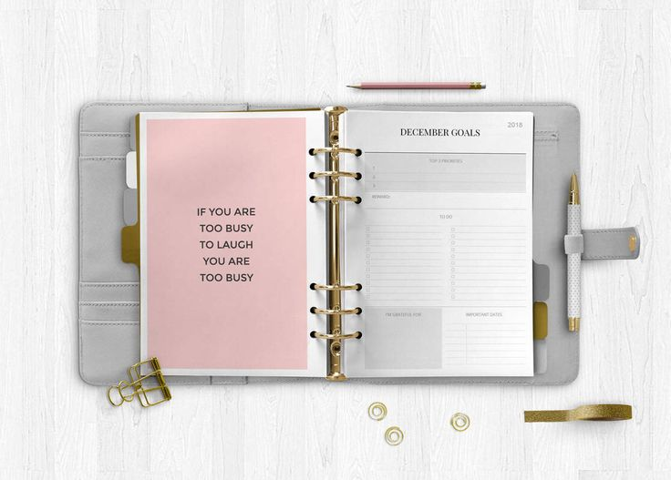 Marble planner 2018, 2018 Planner Printable, Monthly Planner, Weekly Planner, Agenda 2018, Planner Pages, Printable Inserts, A4 A5 Letter #marble #inserts #refill #planner #printable #kikkik #filofax #minimalist
