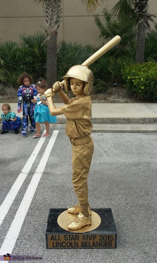Baseball Trophy - Halloween Costume Contest via @costume_works