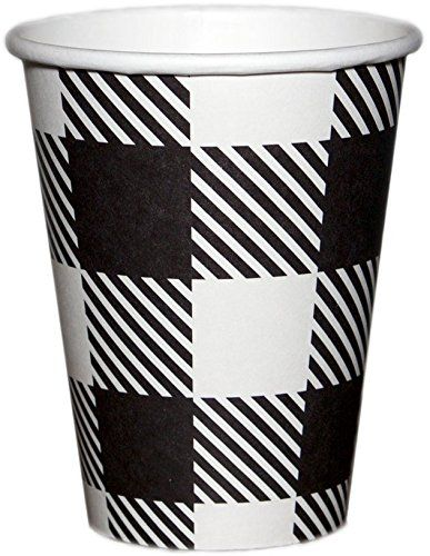 Barista Cups 100/pk 12 oz Disposable Coffee Cups & Firm-F...