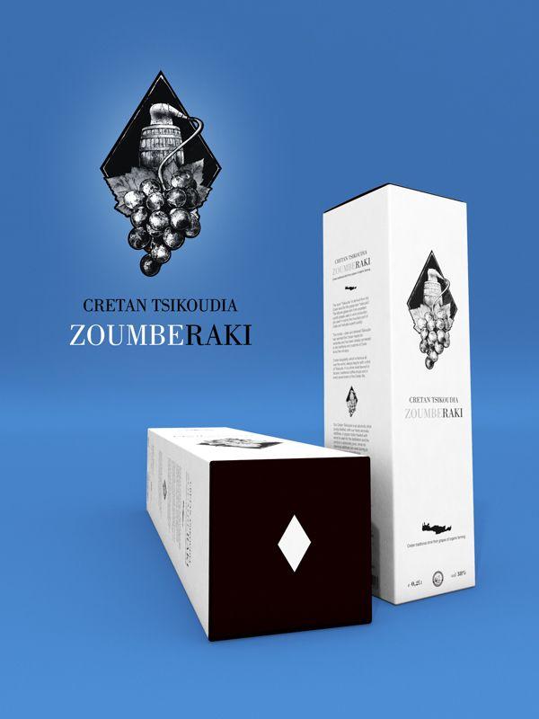 """ZoumbeRaki"" Cretan Traditional Drink by Ioannis Malikoutsakis, via Behance"