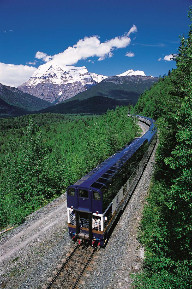 Glacier National Park to Banff, Canada, via rail