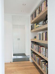 25 beste idee n over doe het zelf boekenkasten op for Zelf zoldertrap maken