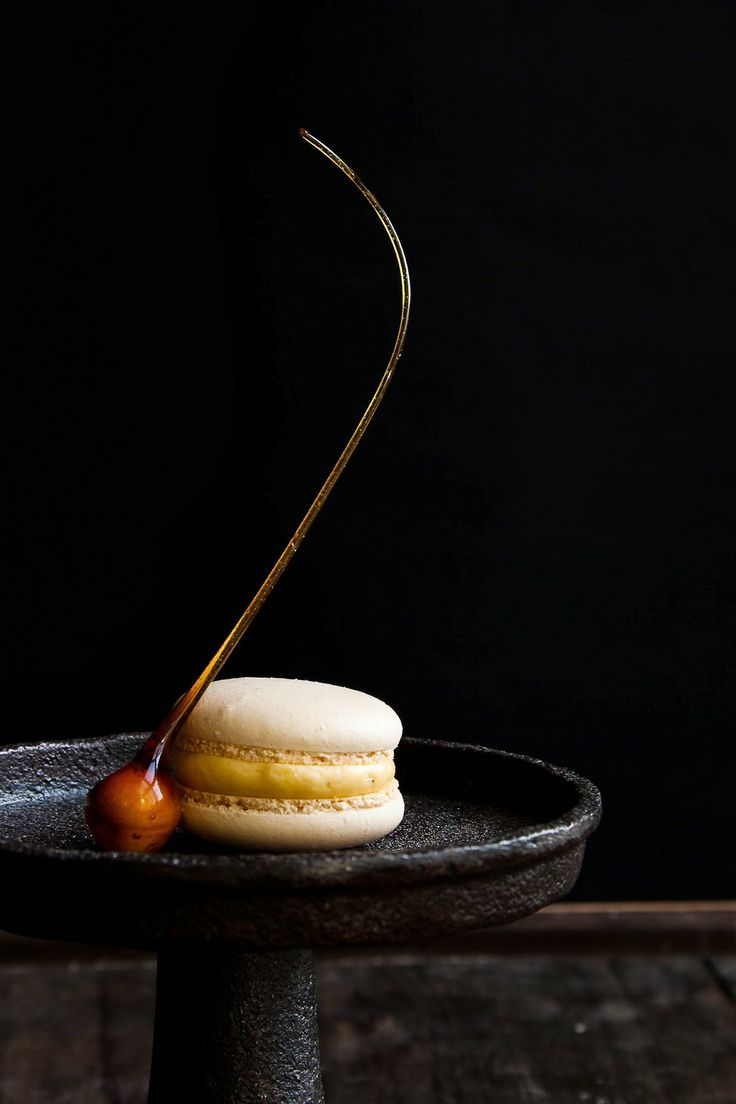 Caramelized Hazelnut Macarons