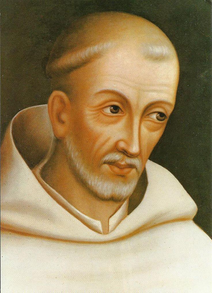San Bernardo de Clairvaux (1090-1153), figura central de la orden monástica del Cister.
