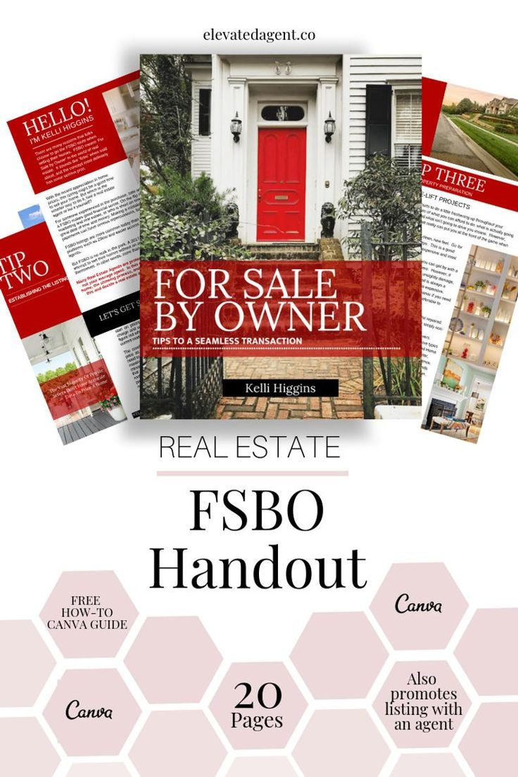FSBO Guide, For Sale By Owner Handout KW Real Estate