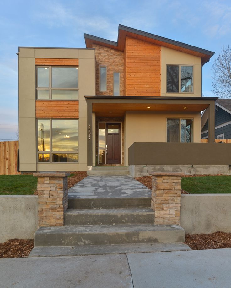 Modern homes denver co