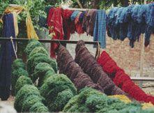 Основные инструкции для работы с индийскими эко-красителями (окраска ткани и ниток).