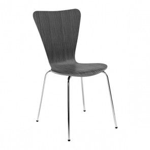SL-151 Dining Chair - Zebra Wood