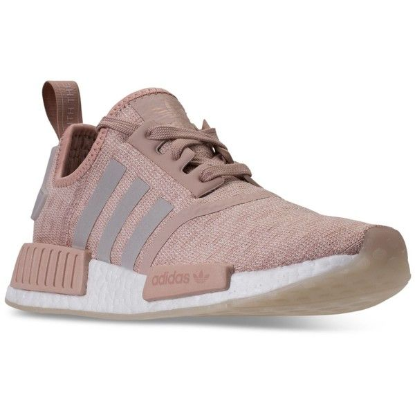 adidas Women\u0027s Nmd R1 Casual Sneakers from Finish Line ($130) ? liked on  Polyvore