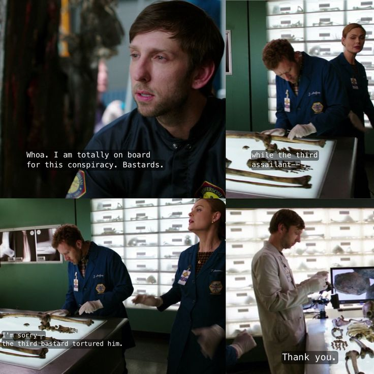 "Fisher finally learned that murder is awful. ""Bastards"" bones season 9"