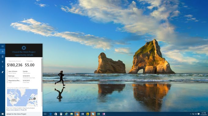 Microsoft Integrates Cortana Into Its Power BI Business Intelligence ServiceWhen Microsoft has a technology it likes it loves to bring it to all of its platforms and services. Right now its Cortana personal assistant is clearly one of these technologies.