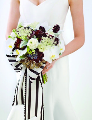163 best black white flower arrangements bouquets images on wedding decor inspiration black white gold bouquet mightylinksfo