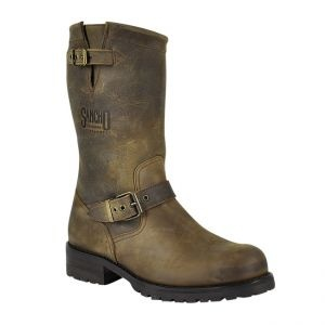 Sancho Boots 5659 Castano Engineerstiefel ohne Stahlkappe -