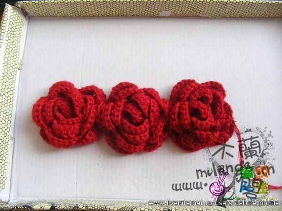 Outstanding Crochet: Chinese Roses. Pattern.