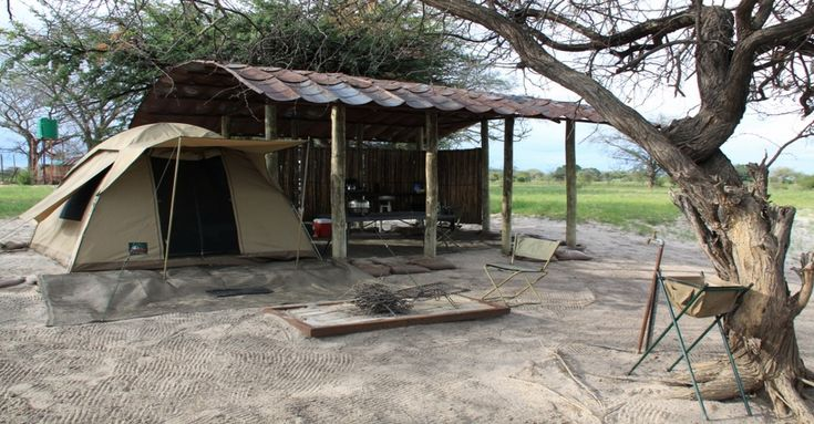 Camp Chobe, accommodation on Namibian Side of the border.  Might be good site to stay at for Vic Falls Day Trip before Savute