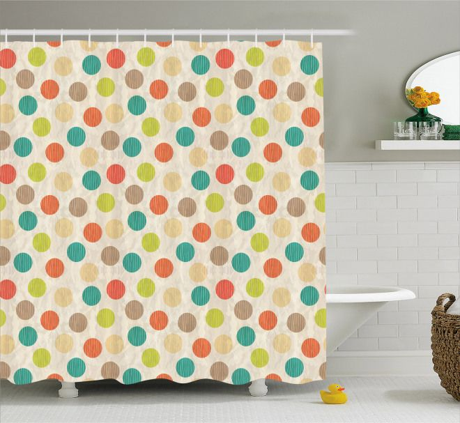 Page 6 12 Retro Shower Curtains 340 Vintage Themed Bath