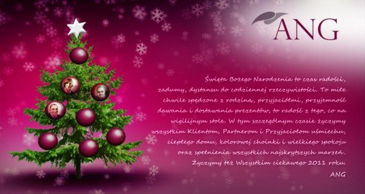 Wszystkim naszym Przyjaciołom życzymy Wesołych Świąt! :) - grudzień 2010 r.