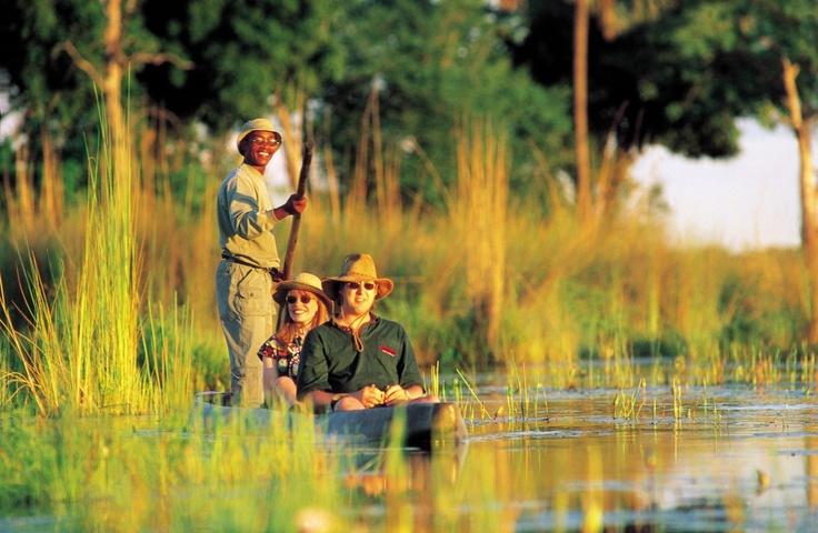 Canoeing on the Okavango Delta - Botswana