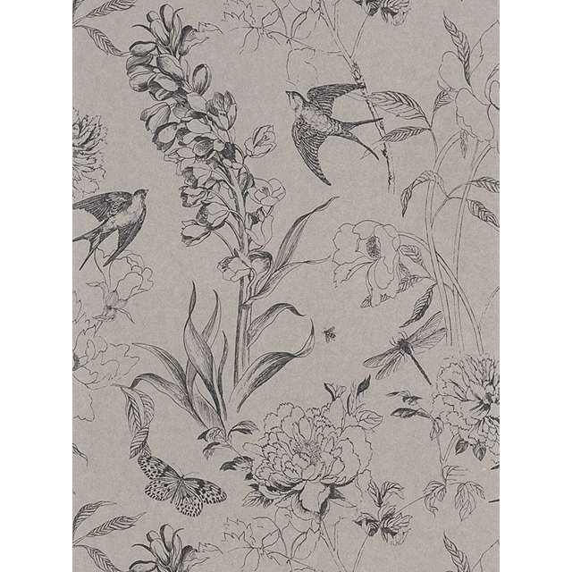 Designers Guild Jardin des Plantes Sibylla Paste the Wall Wallpaper at John Lewis