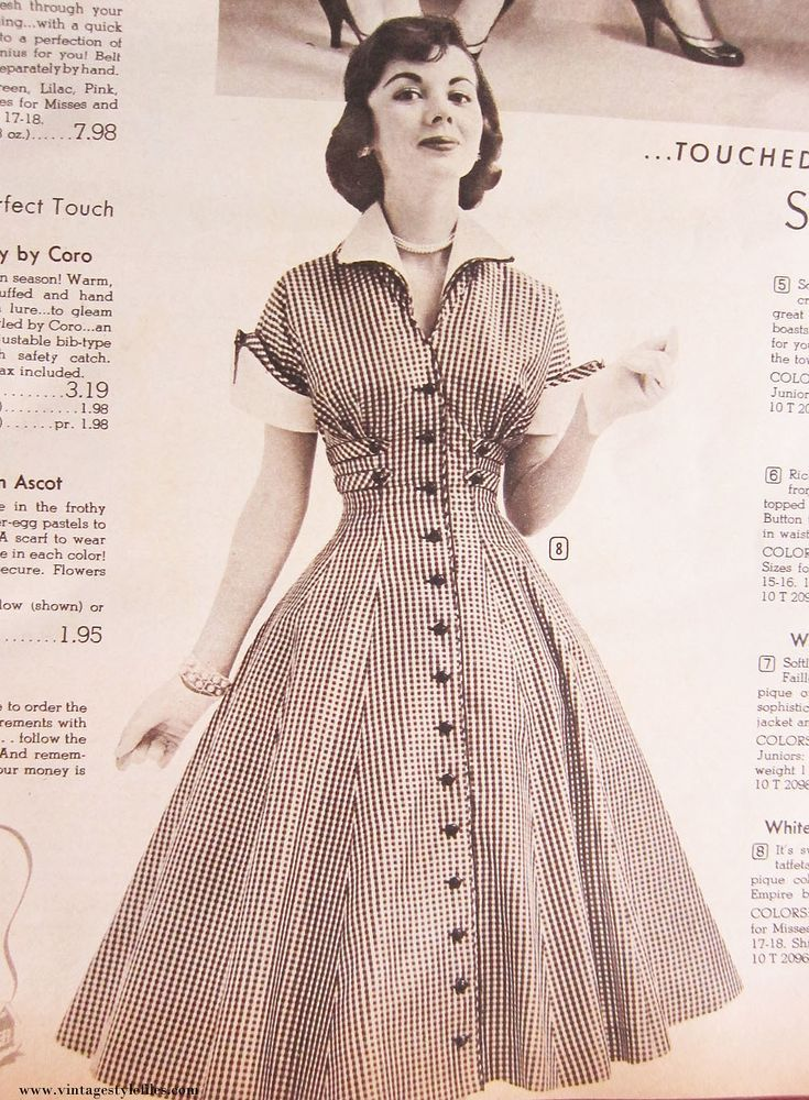 1950s Dress In 2020 Old Fashion Dresses 50 Style Dresses 50s Fashion Dresses