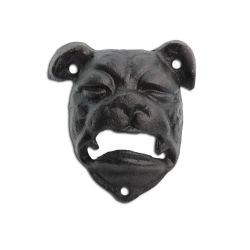 Wall Mounted British Bull Dog Head Cast Iron Bottle Opener in Black Finish Garden Ornaments & Accessories #gardening #nature www.gardens2you.co.uk