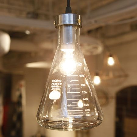 GET OUT OF TOWN!! Flask lamp